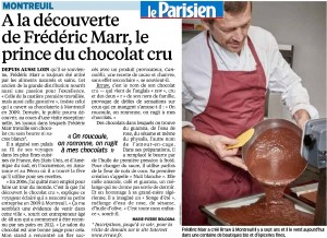 Rrraw Chocolat Cru biologique vegan et sans gluten Visite chocolaterie paris