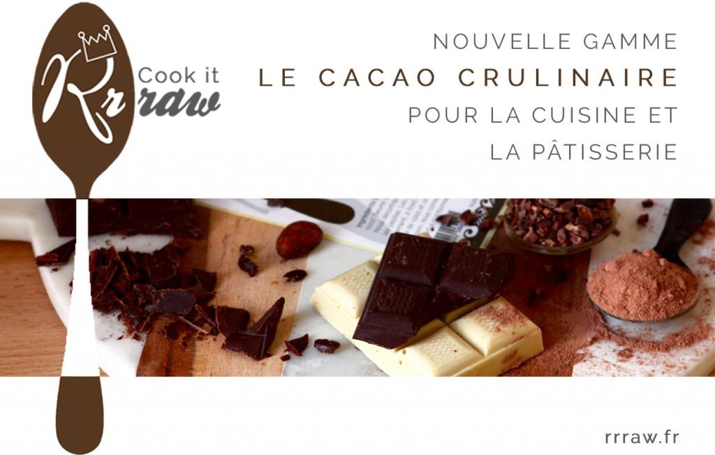 de cacao cru pour la cuisine et la patisserie
