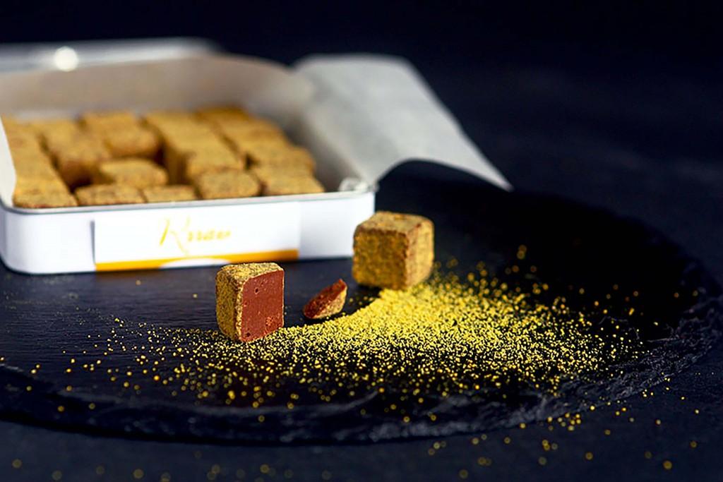 Rrraw Yellowcao 100g Avec truffes et pollen Boite ouverte BD