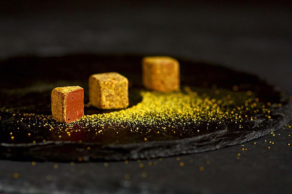 Rrraw Yellowcao truffes et pollen Seuls BD