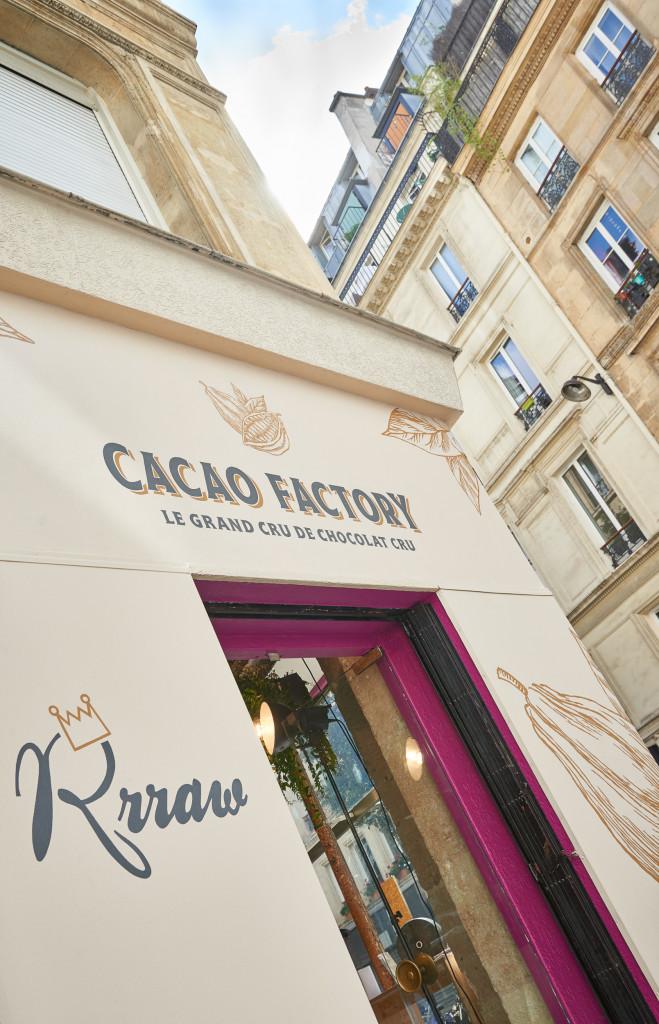 La chocolaterie de Frédéric Marr - RRRAW le grand cru de chocolat cru. Le 20 septembre 2017, 8 rue de mulhouse, 75002 Paris. ©Silvère Leprovost